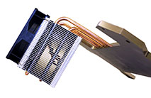 Custom Heat Sinks with  heat pipes