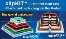 clipKIT's innovative maxiGRIP™ and superGRIP™ attachment systems