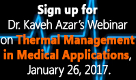 Thermal Management for Medical applications