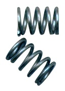 stainless steel springs for push pin heat sink attachment