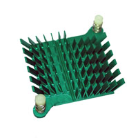 ATS-1038-C3-R0 40.00 x 38.00 x 10.00  mm   BGA Heat Sink - High Performance Push Pin