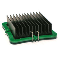 ATS-53400K-C1-R0 40.00 x 40.00 x 14.50  mm   BGA Heat Sink - High Performance Straight Fin w/maxiGRIP