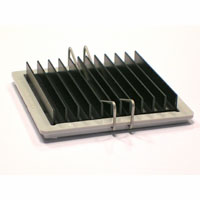 ATS-53425D-C1-R0 42.50 x 42.50 x 9.50  mm   BGA Heat Sink - High Performance Straight Fin w/maxiGRIP