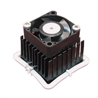 ATS-61350R-C1-R0 35.00 x 35.00 x 19.50  mm   BGA Heat Sink - High Performance fanSINK™ with maxiGRIP™ Attachment