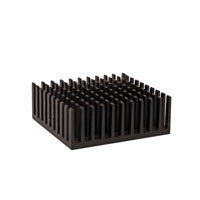 ATS028028021-PF-9T 28.00 x 28.00 x 21.00  mm   BGA Heat Sink  (High Aspect Ratio Ext.) Custom Pin Fin