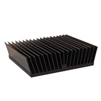 ATS024024005-MF-8D 24.00 x 24.00 x 5.00  mm   BGA Heat Sink  (High Aspect Ratio Ext.) Slant Fin