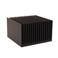 ATS012012002-SF-2A 12.00 x 12.00 x 2.00  mm   BGA Heat Sink  (High Aspect Ratio Ext.) Straight Fin