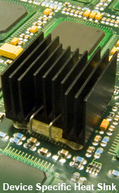 Device Specific Heat Sinks