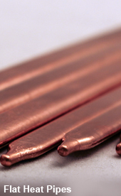 Flat Heat Pipes