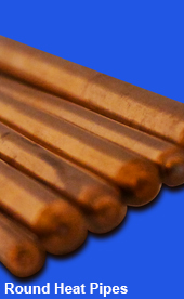 Low Profile, Copper Heat Pipes
